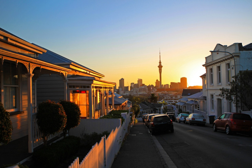 Ponsonby, a suburb in central Auckland